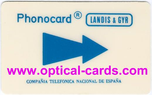 Magstripe of Landis & Gyr for Telefonica in Spain